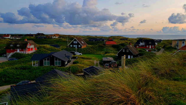 Dänemark Henne Strand Strandhäuser