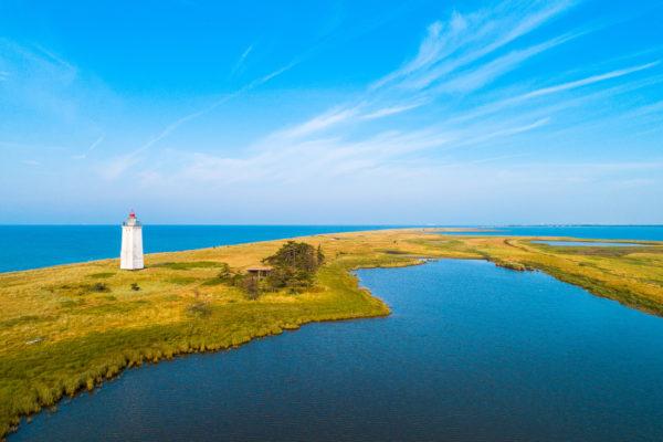 Dänemark Lolland Leuchtturm