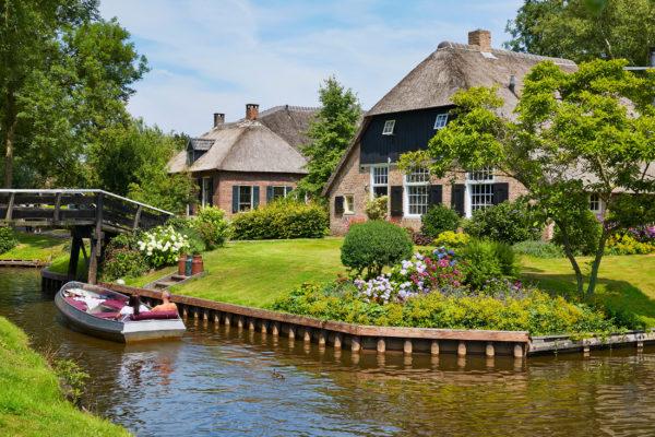 Niederlande Giethoorn Overijissel