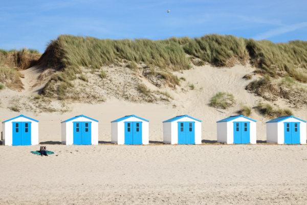 Niederlande Texel Hütte