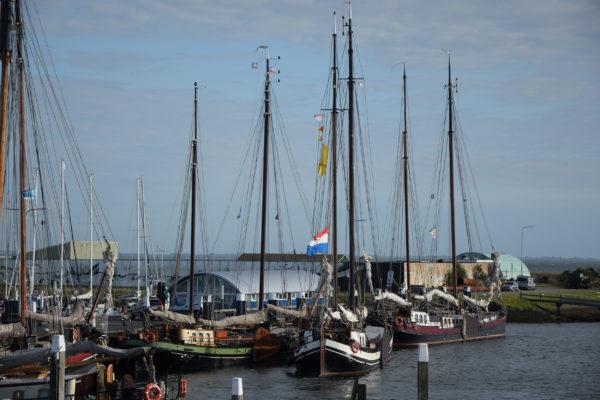 Niederlande Texel Oudeschild Hafen