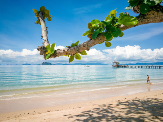 Thailand Koh Yao Yai Island Loh pa red beach