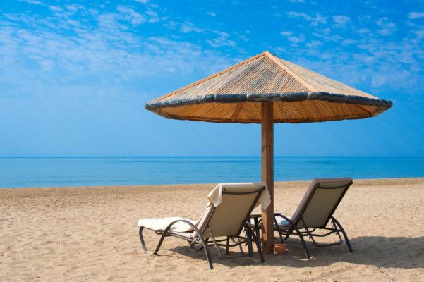 Türkei Strand Sonnenliegen