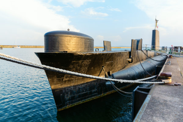 Deutschland Rügen Sassnitz U-Boot