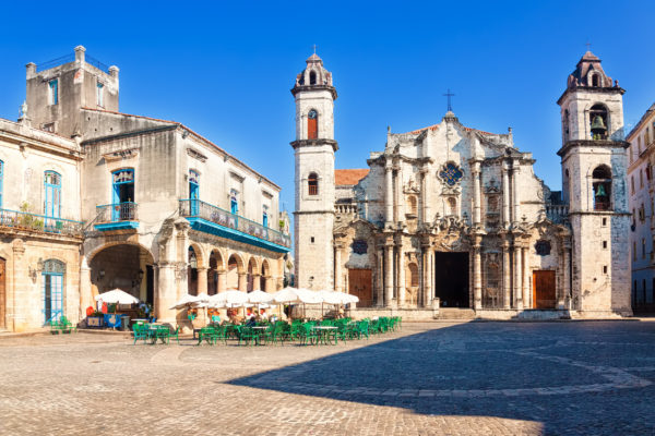 Kuba Havanna Kathedrale
