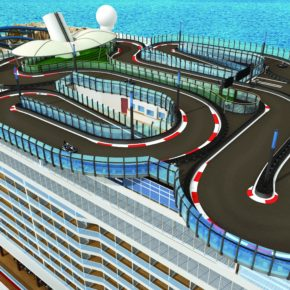 Norwegian Encore Race Track