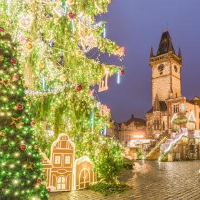 Weihnachtliche Vorfreude! Weihnachtsmarkt in Prag: 2 Tage im TOP 4* Hotel nur 23€