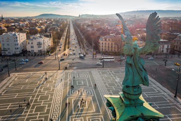 Ungarn Budapest Heldenplatz