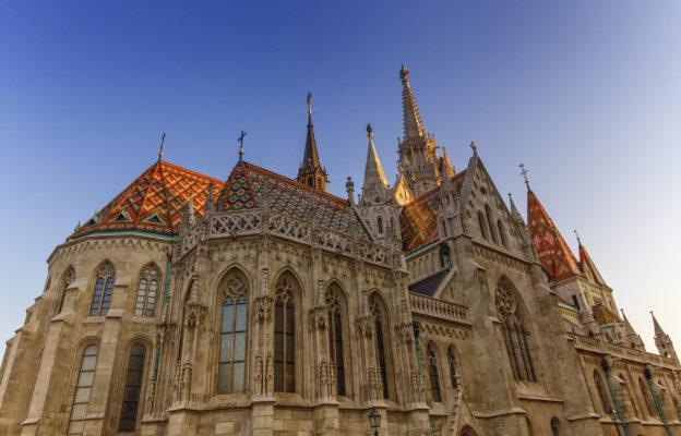 Ungarn Budapest Matthiaskirche