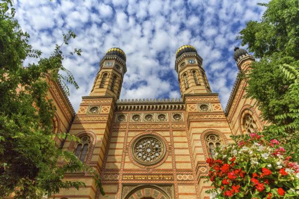 Ungarn Budapest Synagoge