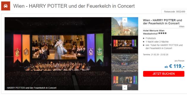 2 Tage Wien Harry Potter