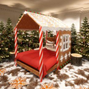 Candy Cane House: 2 Tage London im Süßigkeiten-Haus für 58€