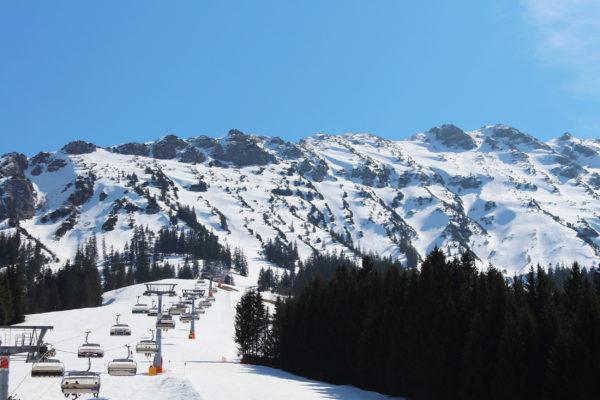 Deutschland Oberjoch Ski