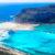 Griechenland Kreta Balos Bay Panorama
