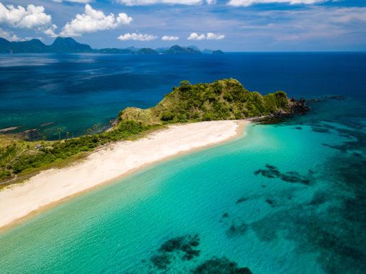 Phillipinen Palawan Nacpan Beach