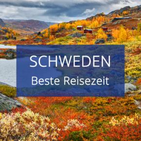 Beste Reisezeit Schweden: Infos zu den Temperaturen inkl. Klimatabellen