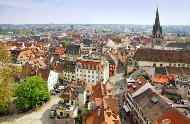 Deutschland Konstanz Stadtbild