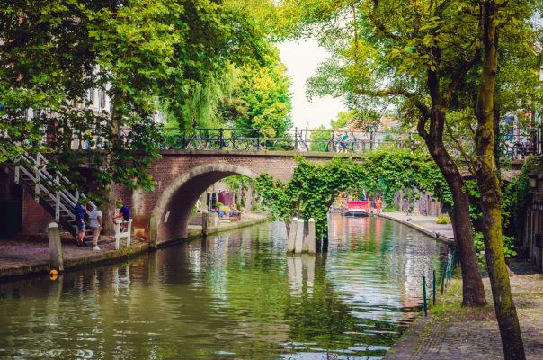 Niederlande Utrecht Brücke