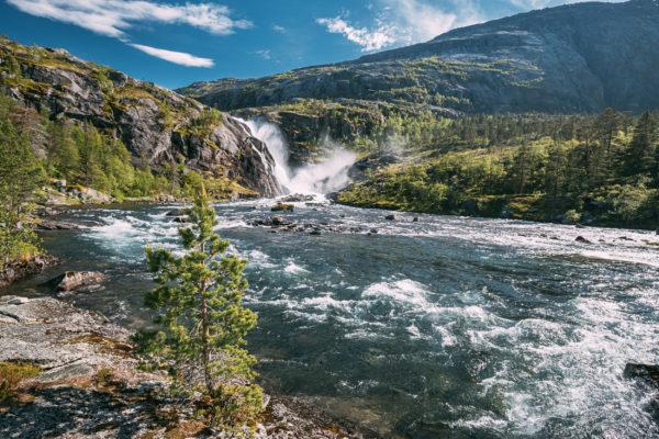 Norwegen Hardangervidda Nationalpark