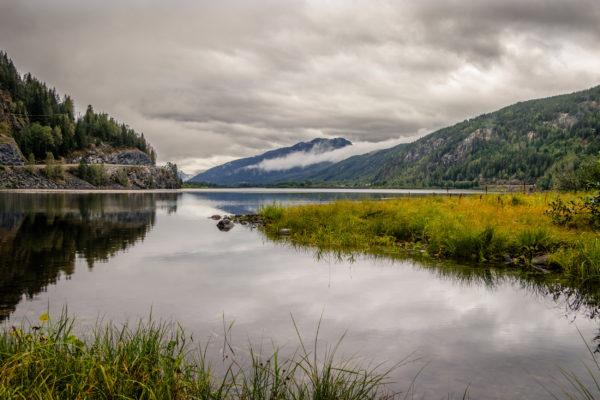 Norwegen Gjovik Tyrifjorden