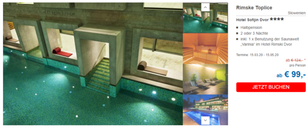 3 Tage Therme