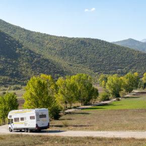 Albanien Camping Wohnmobil