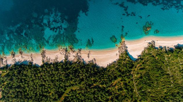 Albanien Dhermi Beach