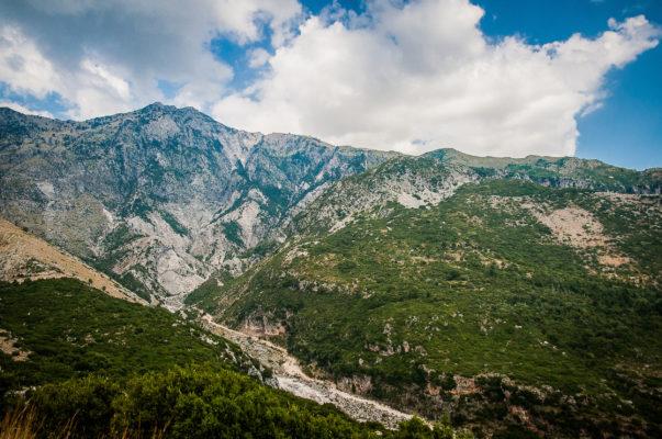 Albanien Ilogara Pass