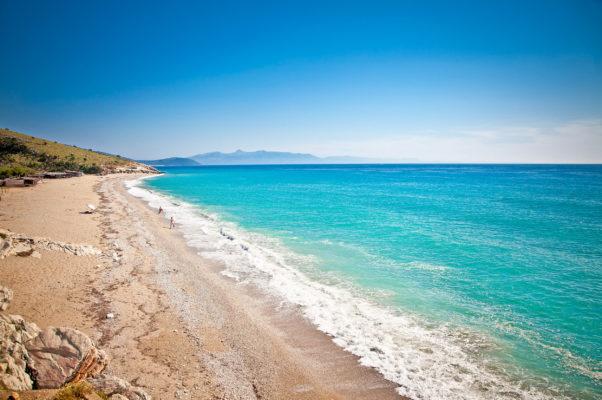 Albanien Lukova Beach