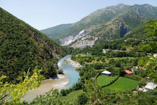 Albanien Valbona Tal