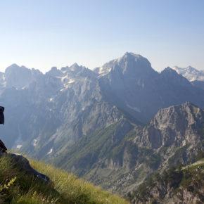 Albanien Wandern Alpen