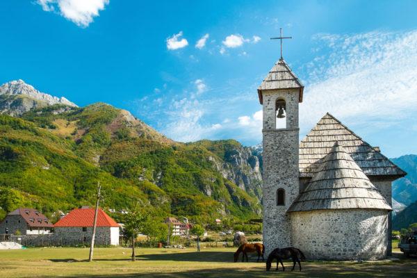 Albanien Wandern Teth Nationalpark
