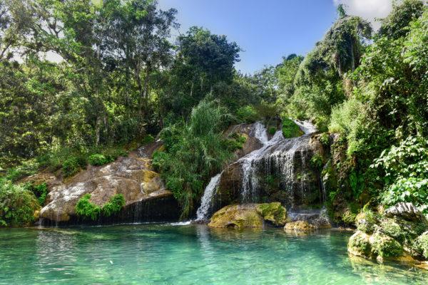 Kuba El Nicho Wasserfall