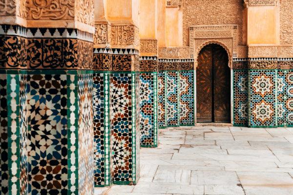 Marokko Ornament Fliesen