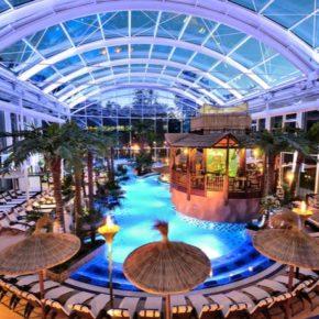Wellnesstrip übers Wochenende: 2 Tage Eurotherme mit TOP 4* Superior Hotel mit Halbpension, Spa & Eintritt um 130€