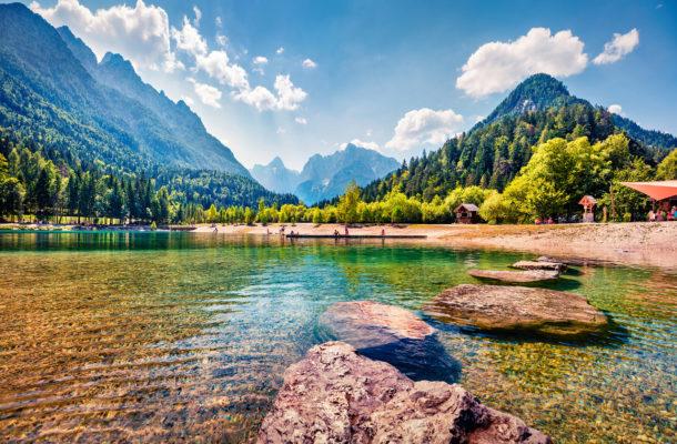 Slowenien Jasna See