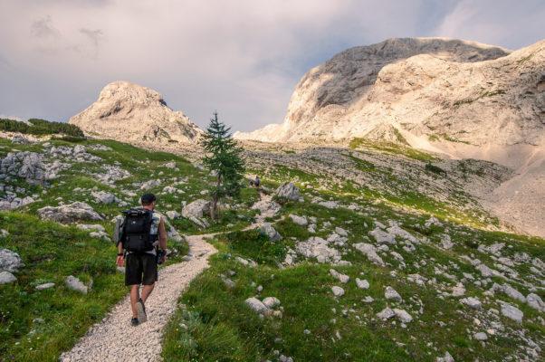 Slowenien Julische Alpen Wandern