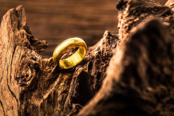 Herr der Ringe goldener Ring