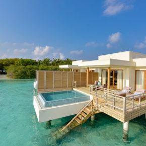 Frühbucher Malediven-Luxus: 8 Tage in TOP 5* Lagoon Villa mit All Inclusive, Privat-Pool & Flug für 4.971€