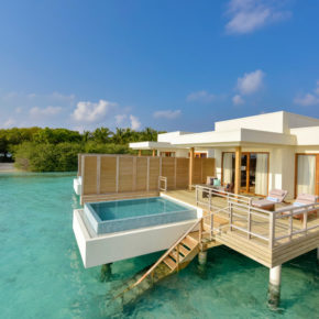 Frühbucher Malediven-Luxus: 10 Tage in TOP 5* Lagoon Villa mit All Inclusive, Privat-Pool & Flug für 5.500€