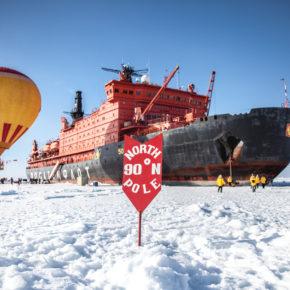 Expeditionskreuzfahrt: 13 Tage mit dem Eisbrecher zum Nordpol inkl. Vollpension & vielen Highlights