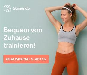 Gymondo Gutschein: Startet Euer Training mit 1 Monat gratis