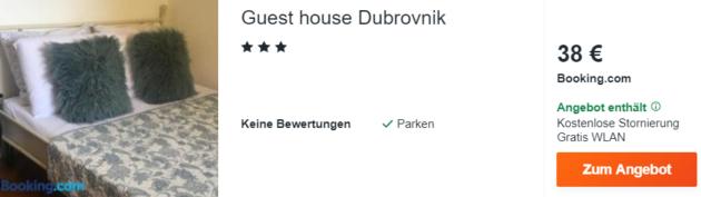 4 Tage Dubrovnik Hotel