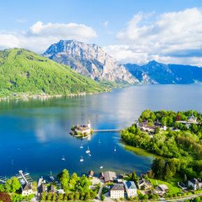 Herbstliches Österreich: 2 Tage Langbathseen übers Wochenende in toller Pension mit Frühstück um 33€