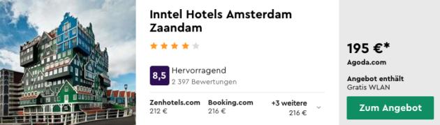 2 Tage Amsterdam Hotel