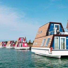 Mega cool: 2021 für 4 Tage am Wochenende auf eigenem 4* Hausboot in Italien ab 174€