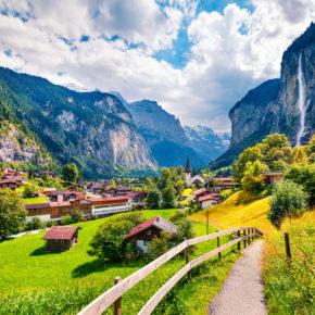 Wochenende in der Schweiz: 2 Tage Lauterbrunnen mit Unterkunft für 40€