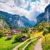 Schweiz Lauterbrunnen Staubbachfall
