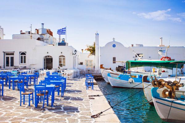 Griechenland Paros Naousa