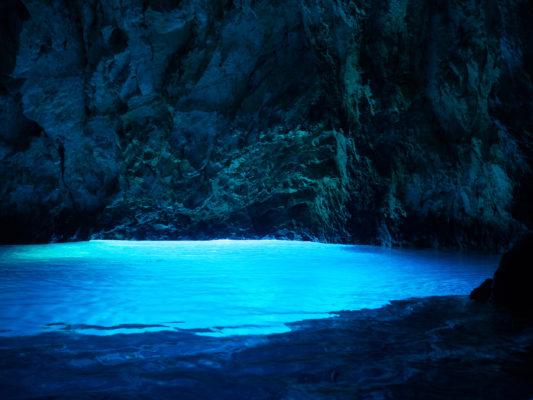 Kroatien Bisevo Grotte